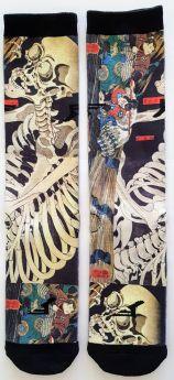 Socks Footprint Graphic with Velcow Kuniyoshi - One size