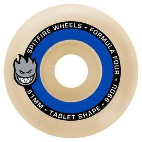 Wheel Spitfire - F4 99 Tablet Natural 53Mm