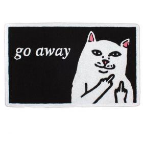 RND0641 Go Away Rug - Black - OS